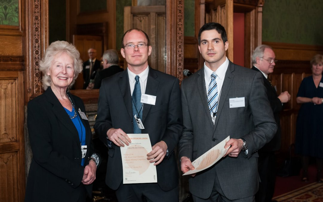 Winners at the House of Lords
