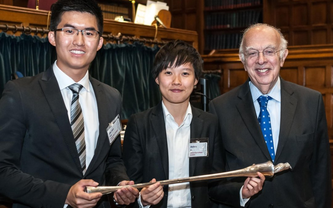 First and now latest: UCL wins 2013 National Mooting Competition
